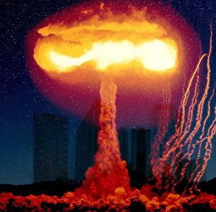 Explosión nuclear (imagen referencial)