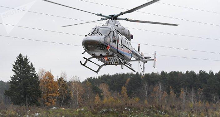 Helicóptero Ansat (imagen referncial)