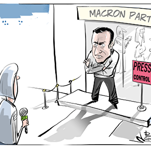 Macron, el aprendiz de Trump