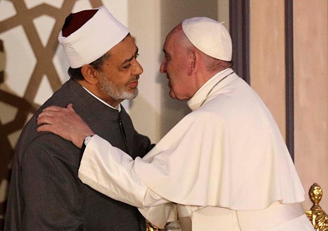 El Papa Francisco y el Gran Imán de Al Azar
