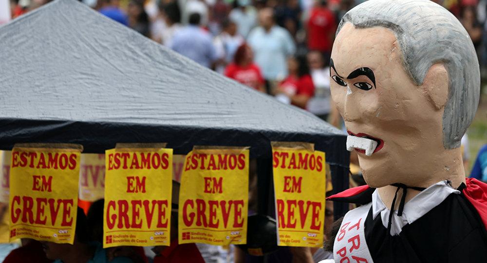 Resultado de imagen para brasil cut contra politica sindical
