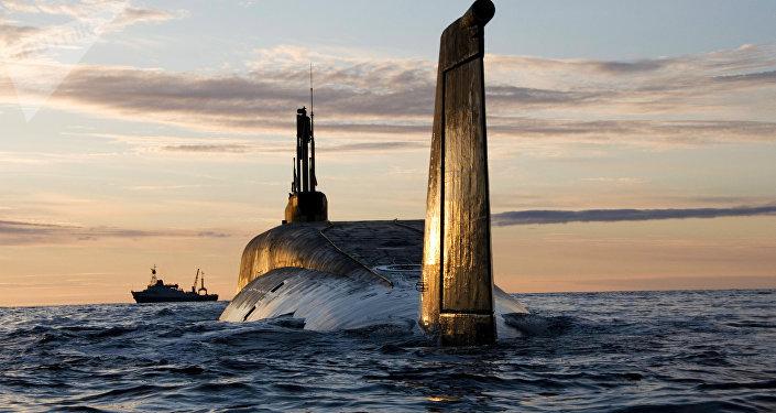 Submarino nuclear de la clase Borei (archivo)