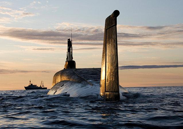 Yuri Dolgoruki, submarino nuclear de clase Boréi