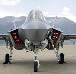 Un Avión F-35A