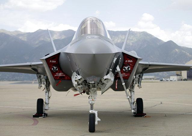El caza estadounidense de quinta generación F-35 (archivo)