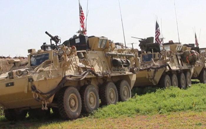 EEUU despliega tropas y blindados en la frontera entre Turquía y Siria