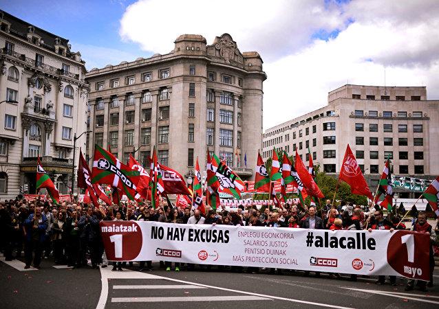 Primero de mayo en España