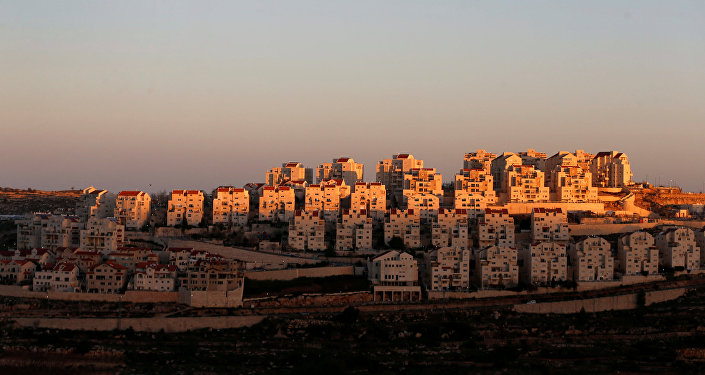General view of houses of the Israeli settlement of Efrat, in the occupied West Bank