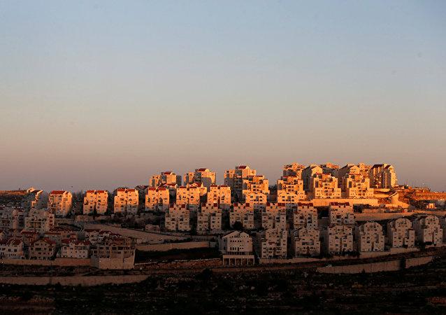 Asentamientos judíos en Cisjordania (archivo)