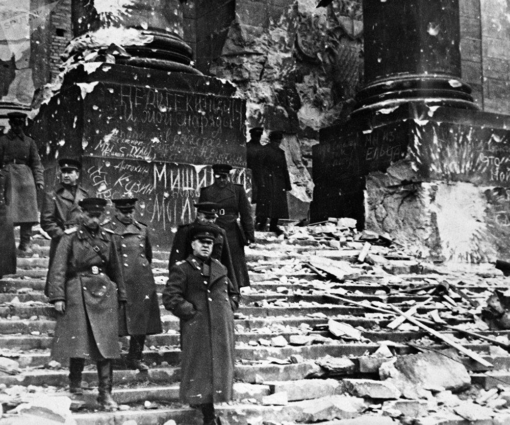 El archivo soviético de la II Guerra Mundial cuenta con un material único