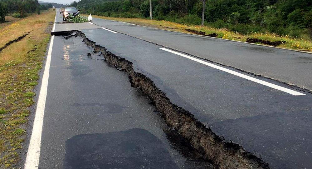 Consecuencias de un terremoto (archivo)