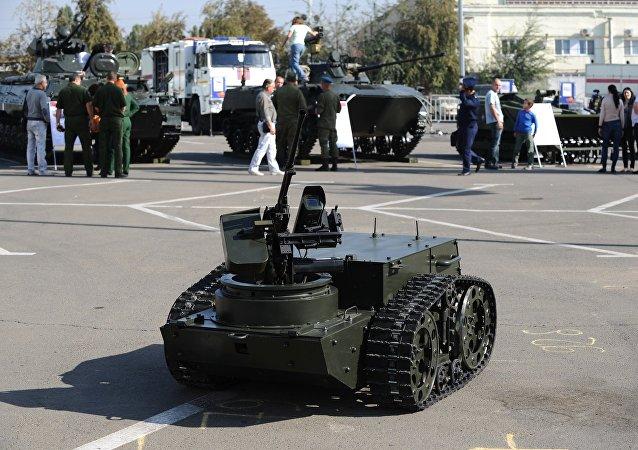 Robot de combate multifuncional (imagen referencial)
