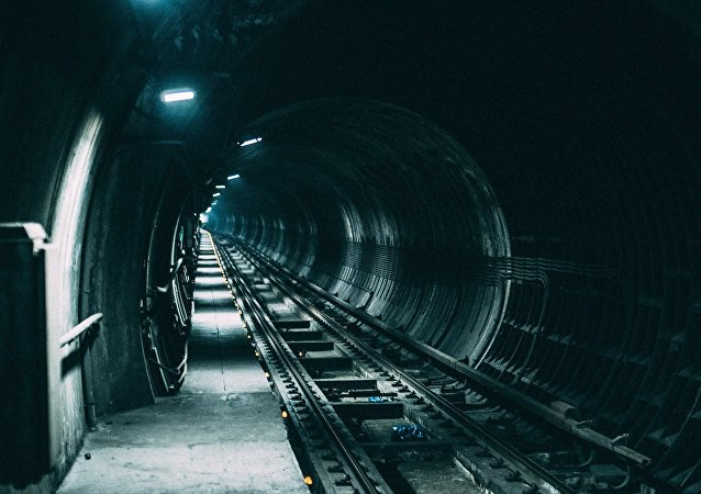 Un túnel ferroviario