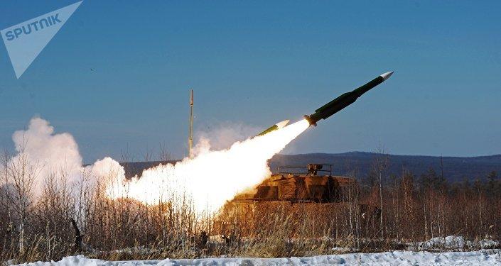 Sistema de misiles antiaéreos Buk (archivo)