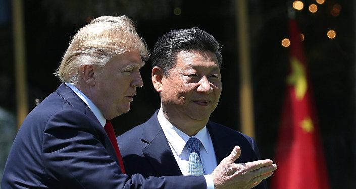 el presidente de EEUU, Donald Trump, y el presidente de China, Xi Jinping