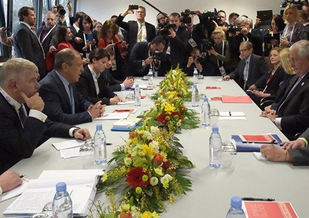 Reunión de ministros de asuntos exteriores en una cumbre de G20 (archivo)