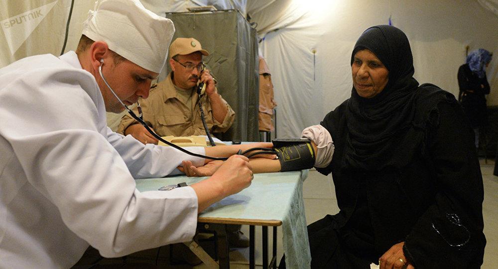 Médico ruso en Siria (archivo)