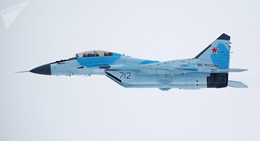 Caza ruso MiG-35 (archivo)