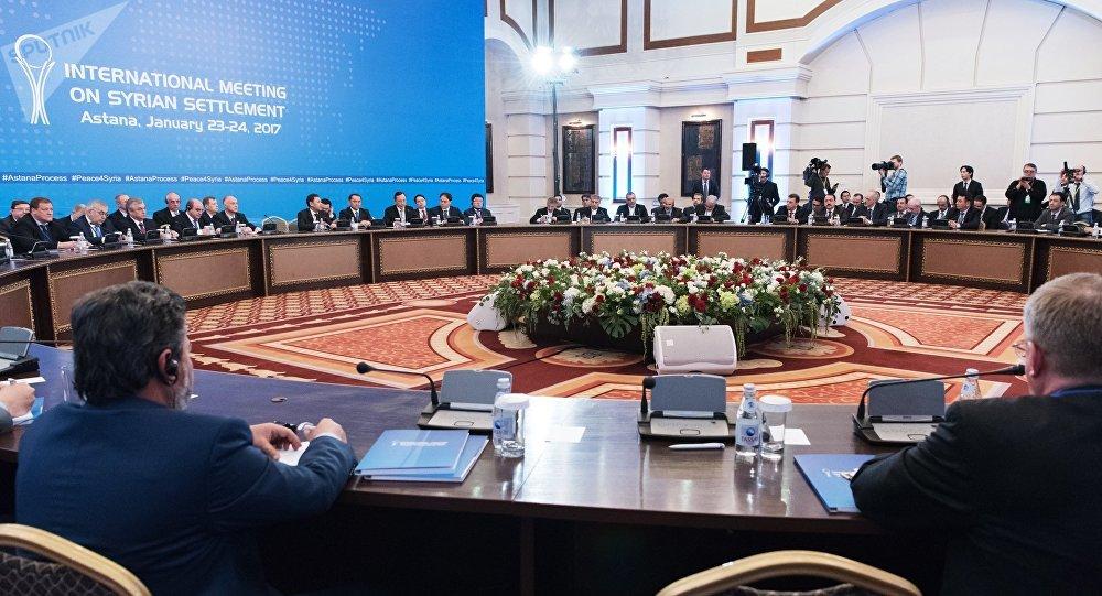 Consultas sirias en Astaná