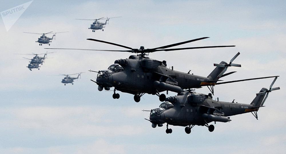 Helicóptero ruso Mi-35