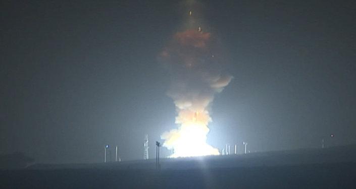 Publican el vídeo de la segunda prueba del misil intercontinental de EEUU