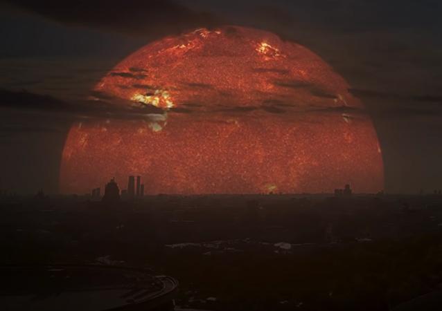 Cómo se vería Moscú a la luz de otras estrellas en lugar del Sol