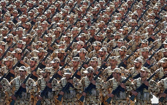 Militares iraníes