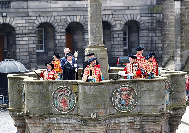 Ceremonia electoral en Escocia