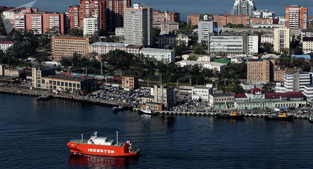 Ciudad de Vladivostok, Rusia