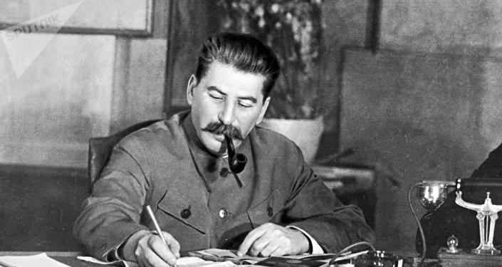 Iósif Stalin, secretario general del Comité Central del Partido Comunista de la Unión Soviética