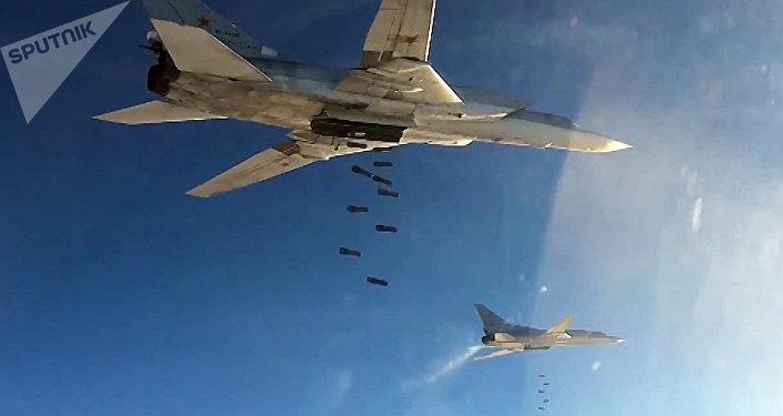 Aviación rusa ataca posiciones del EI en Siria