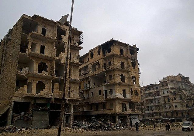 Alepo, Siria (archivo)