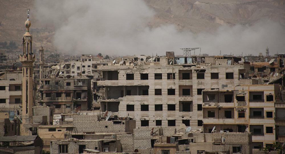El barrio de Al Kabun, al este de Damasco