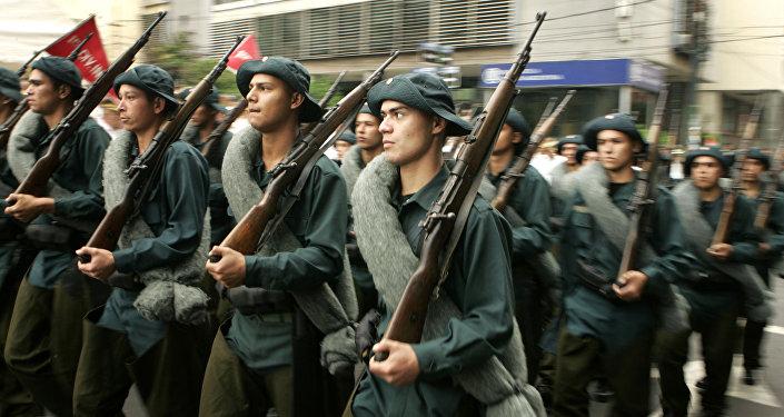Conmemoración del Guerra del Chaco en Paraguay (archivo)