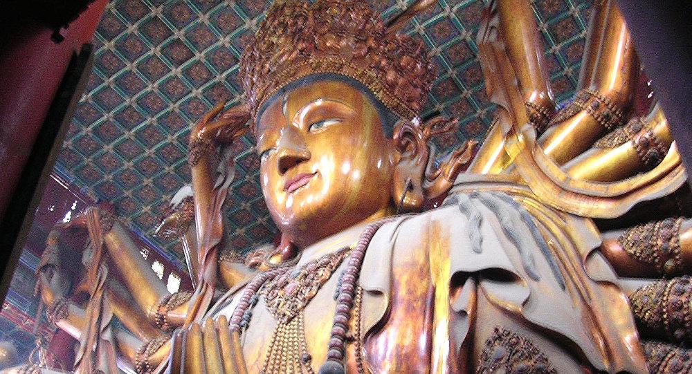 Estatua de Budhisattva (archivo)