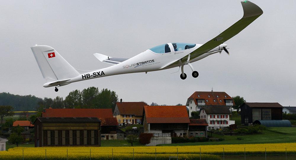 El avión biplaza SolarStratos