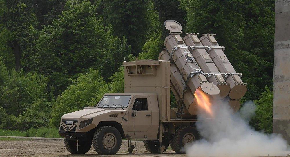 El sistema lanzamisiles antitanque serbio ALAS