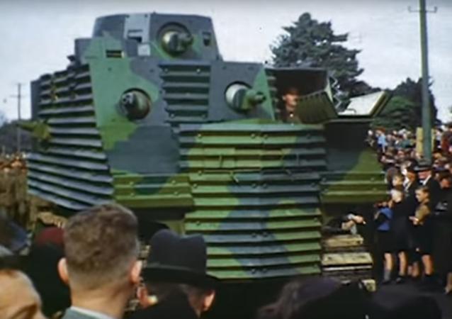 El tanque neozelandés Bob Semple