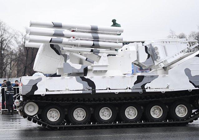 Pántsir-SA, la modificación ártica del sistema antiaéreo ruso Pántsir