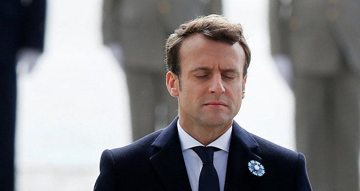 Emmanuel Macron, presidente electo de Francia