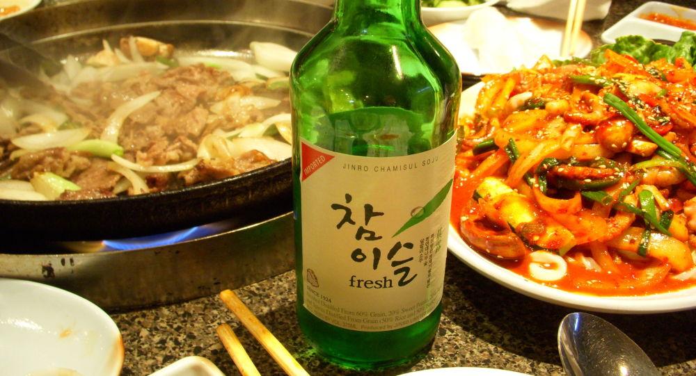 Soju, bebida alcohólica coreana