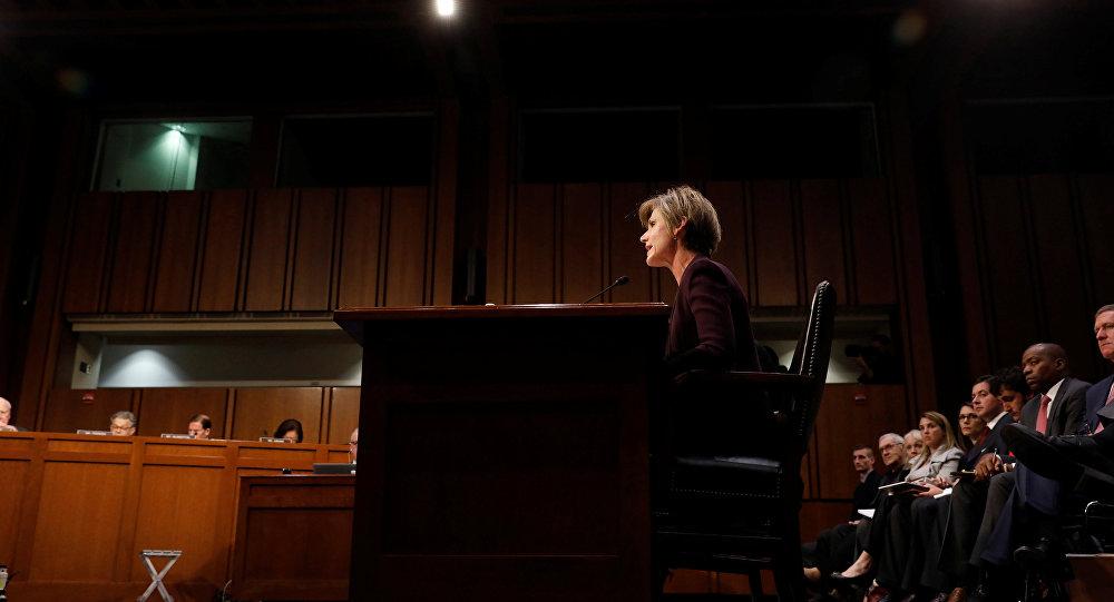 Exfiscal general de EEUU, Sally Yates