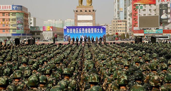 Policía militar china