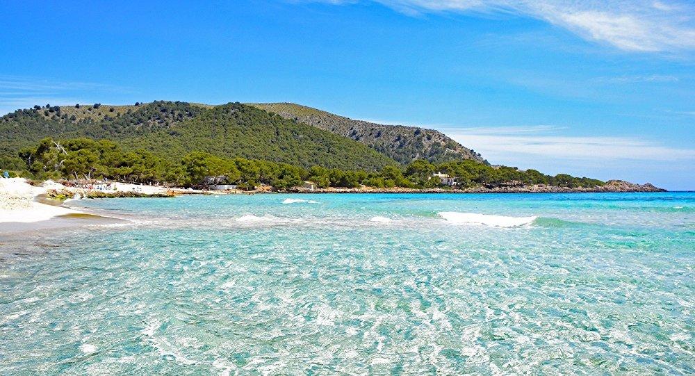 Una playa en las Islas Baleares