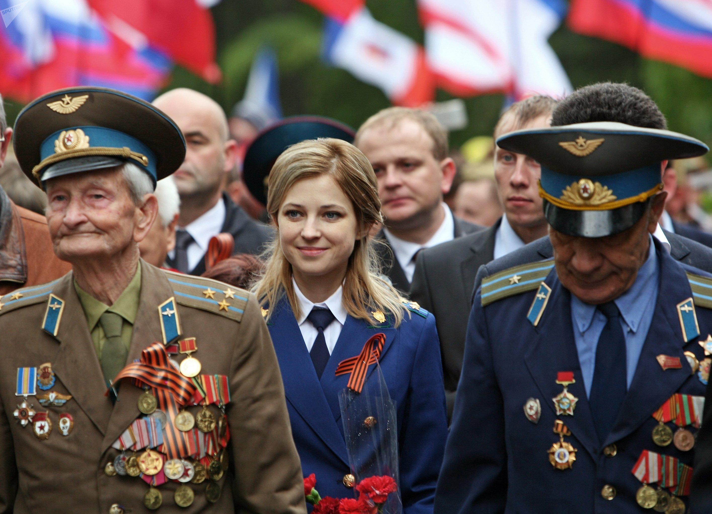 El desfile militar en Crimea, el 9 de mayo 2017