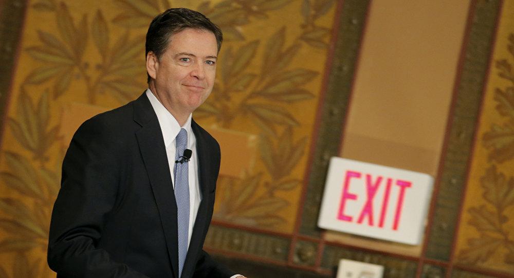 James Comey, exdirector del FBI