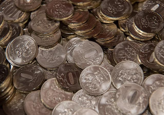 Monedas de 10 rublos
