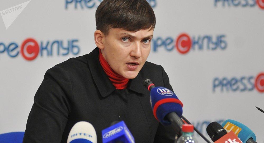 Nadezhda Sávchenko, diputada ucraniana