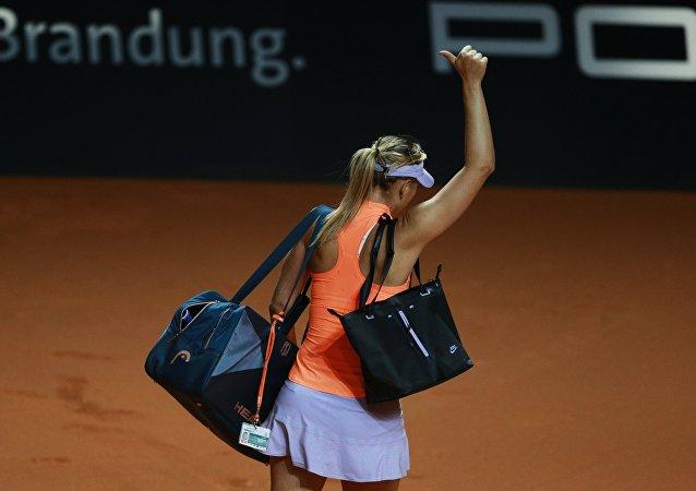 María Sharápova, la tenista rusa