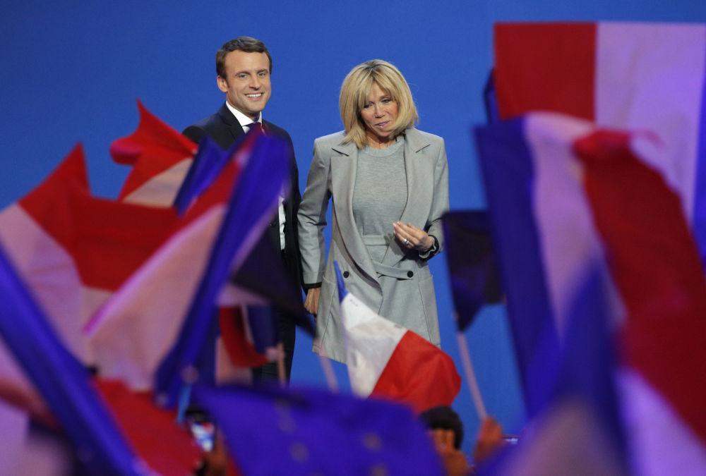 Brigitte Macron, de maestra a nueva primera dama de Francia